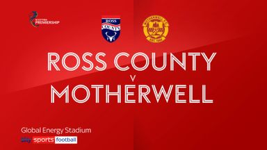 Ross County 1-2 Motherwell