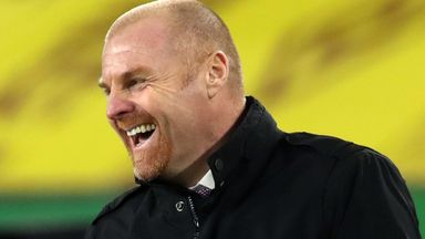 Dyche: We've spent a bag of chips on transfers!