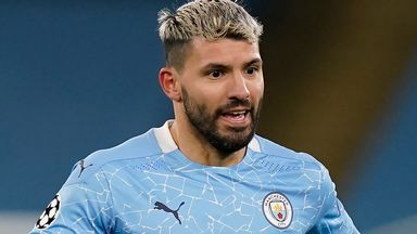 Aguero in isolation after close contact