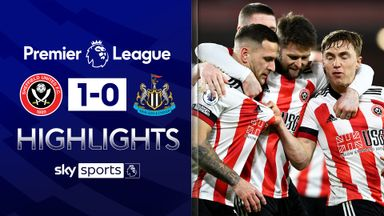 Sheff Utd gain first PL win over 10-man Toon