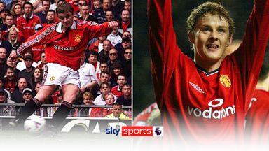 Solskjaer's greatest Man Utd goals
