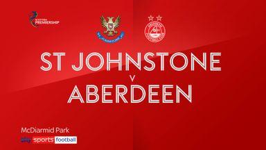 St. Johnstone 0-1 Aberdeen