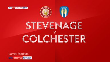 Stevenage 0-0 Colchester