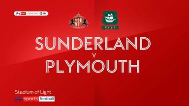 Sunderland 1-2 Plymouth