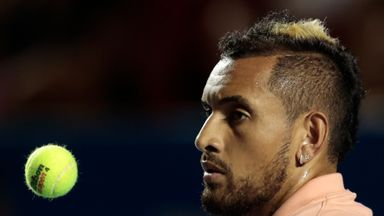 Kyrgios: I didn't really miss the game