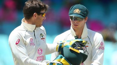 Paine: Smith was not scuffing Pant's guard
