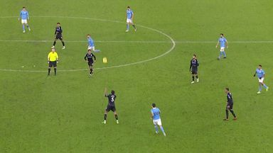 Was Man City's opening goal offside?