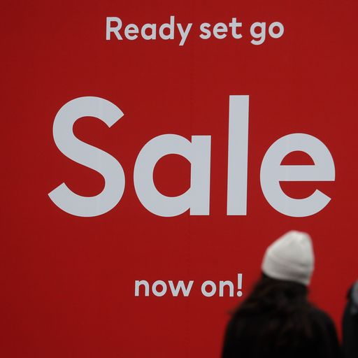 High street prices plummet as retailers hope for Christmas sales boost