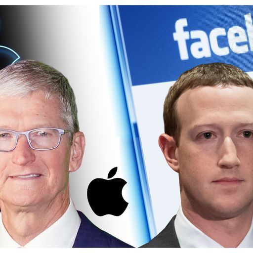 The Battle of Big Tech begins as Apple and Facebook fight to reshape industry