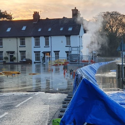 Plea to PM over floods as 'devastated' Worcestershire town evacuated again