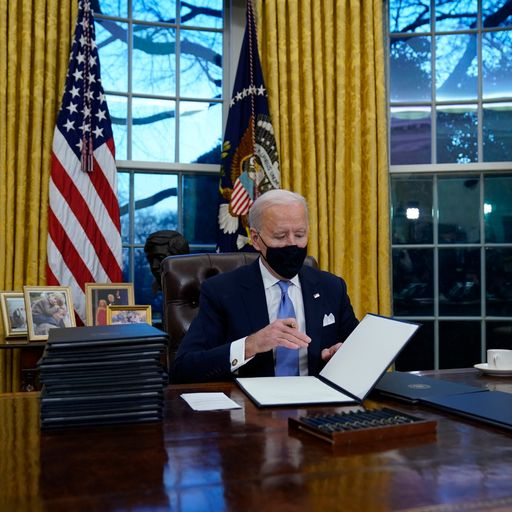 The executive orders Biden immediately signed to reverse Trump's policies