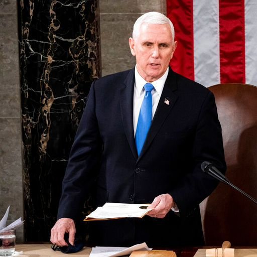 Republicans join race to oust Trump as Pence rejects 25th amendment vote