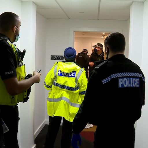 COVID-19: Mass gatherings and New Year's Eve parties broken up by police in Birmingham