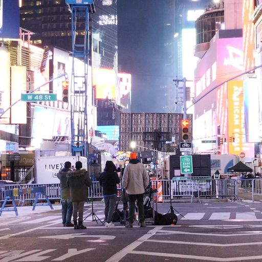 New York marks new year with grief and grace