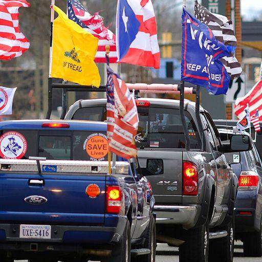 Pro-gun and anti-government: Suspicion and fear on America's streets