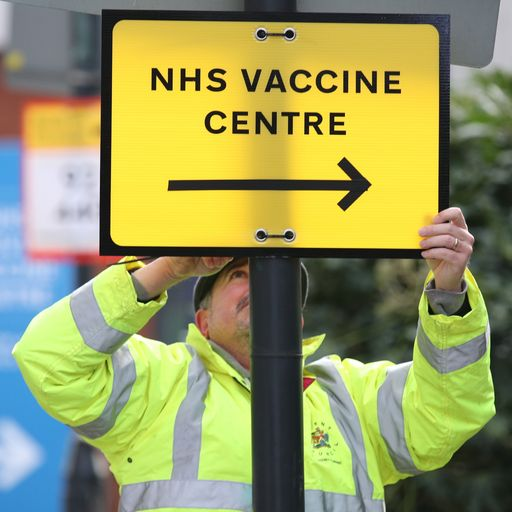 COVID-19: Vaccine booking website criticised after 'queue-jumping' claims