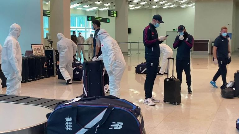 England bowler James Anderson says the squad has been made to feel safe by the strict coronavirus protocols in place for their two-match Test series in Sri Lanka