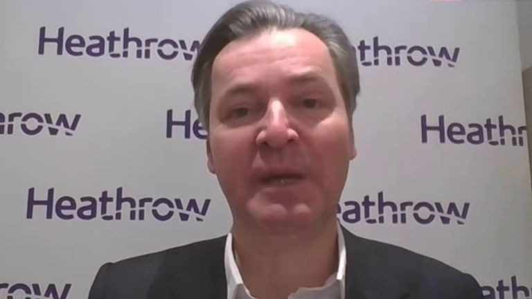 John Holland-Kaye is the Chief Executive of Heathrow airport