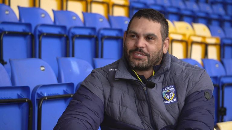 Greg Inglis spoke to Jenna Brooks about joining Warrington and his plans for the future