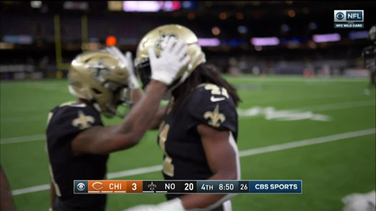 Chicago Bears 9-21 New Orleans Saints: Drew Brees throws two TDs and Alvin Kamara scores in Saints win | NFL News