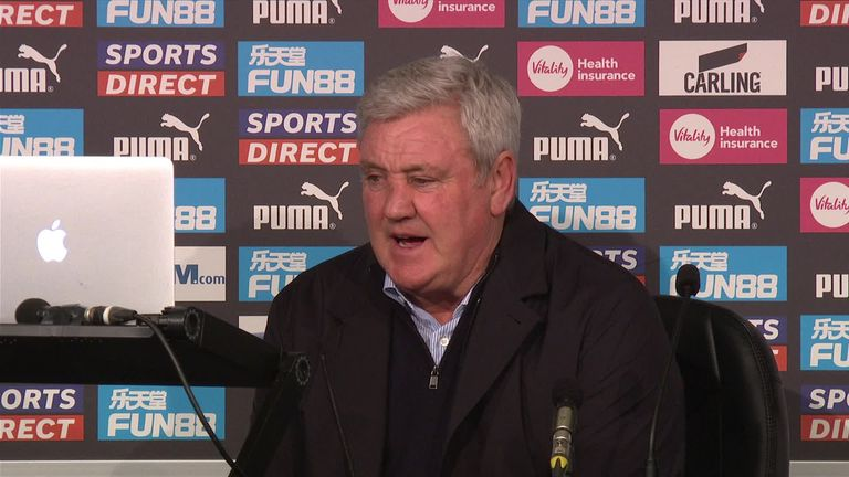 Steve Bruce says he saw enough from his Newcastle side in their defeat at home to Leeds to take confidence forward into their forthcoming Premier League games.