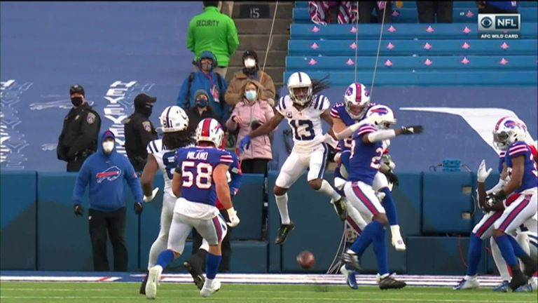 The Bills deny Philip Rivers' Hail Mary heave to secure first playoff win since 1995
