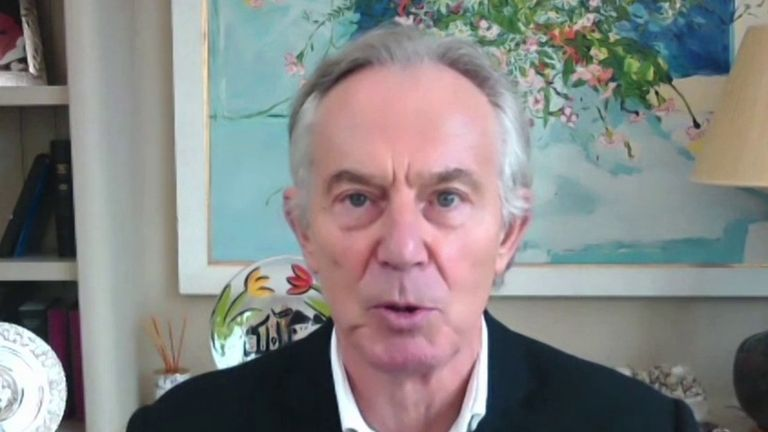 Tony Blair says UK must 'completely reconsider' it's coronavirus vaccine strategy