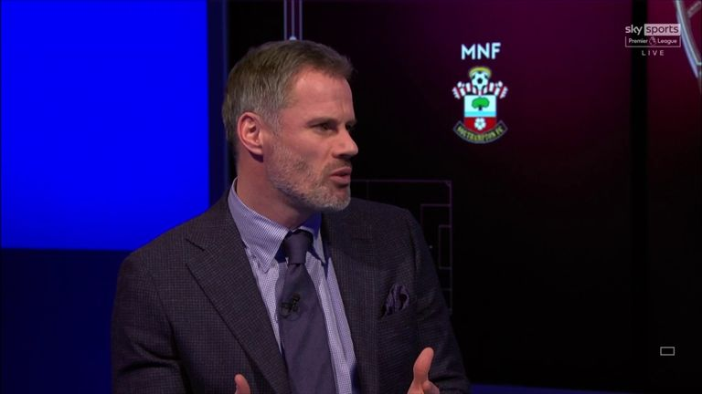 Jamie Carragher told Monday Night Football that if Liverpool don't sign a new centre-back, they'll struggle their Premier League title.