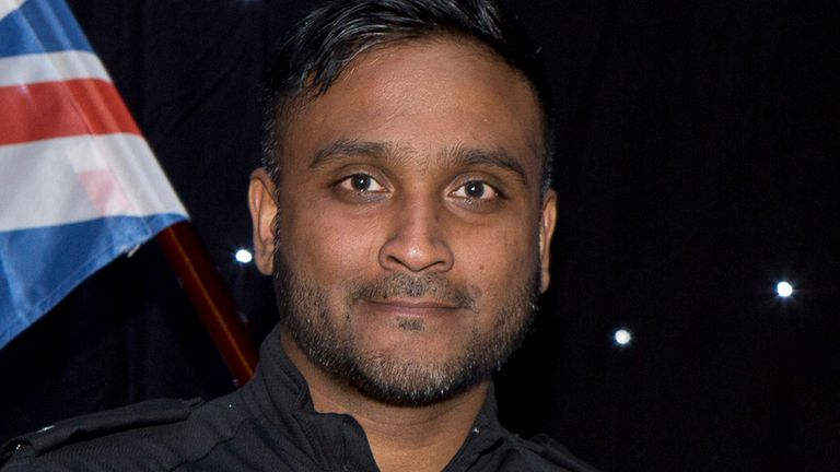 Police constable Abbasuddin Ahmed, 40, has died after testing positive for COVID-19. Pic: GMP
