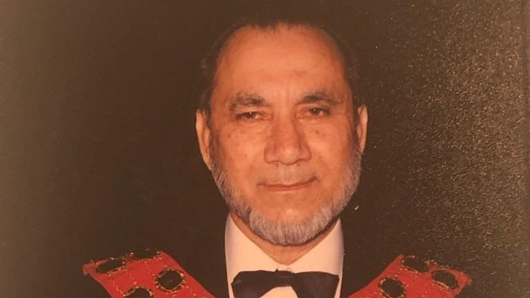 Abdul Karim Sheikh died in April last year