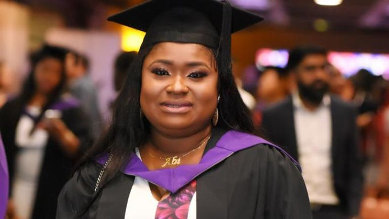 Undated family handout photo of Abimbola Ajoke Bamgbose, a 38-year-old mother and social worker who died following liposuction in Turkey