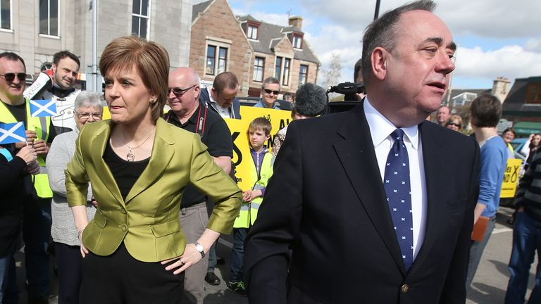 Alex Salmond has made a written submission against Nicola Sturgeon