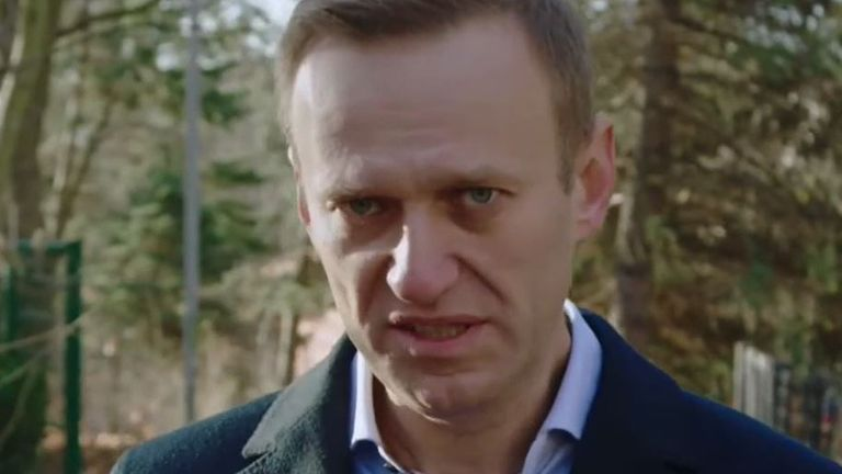 Alexei Navalny continues to criticise the Kremlin