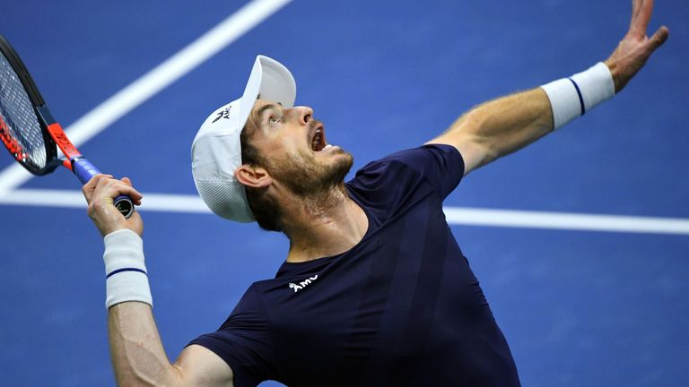 Murray made his grand slam comeback in last year's US Open but lost in the second round