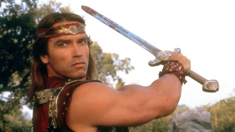 Conan The Barbarian - 1982 Arnold Schwarzenegger  1982