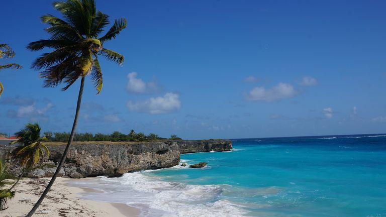Bottom Bay in Barbados. Pic: AP