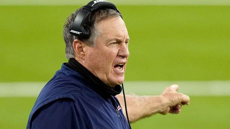 New England Patriots head coach Bill Belichick is the only coach to win six Super Bowl titles