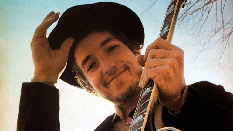 Bob Dylan: LP front cover 'Nashville Skyline'