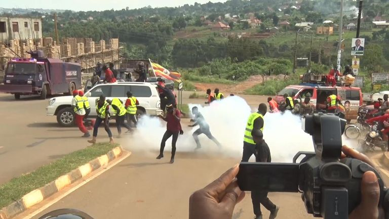 Unrest in Uganda ahead of the election