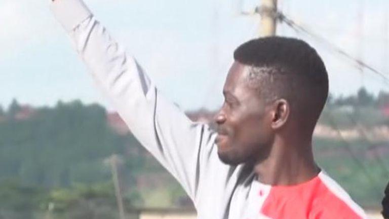 Pop star Bobi Wine, real name Robert Kyagulanyi, is running for the presidency in Uganda