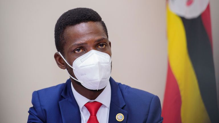 The campaign run by Bobi Wine, a former reggae singer, has struck a chord with Uganda's disillusioned youth