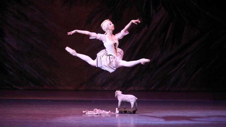 Ana Turazashvili. Pic: Bolshoi theatre. Stach Lopatin