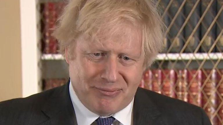 Boris Johnson ponders whether Joe Biden is 'woke'