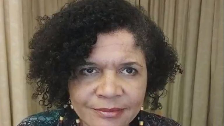 """Chi Onwurah says """"when it's my turn, I will be taking the vaccine""""."""