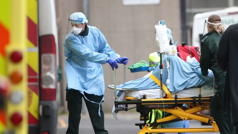 Professor Chris Whitty says 'we're probably at the worst point in this pandemic'