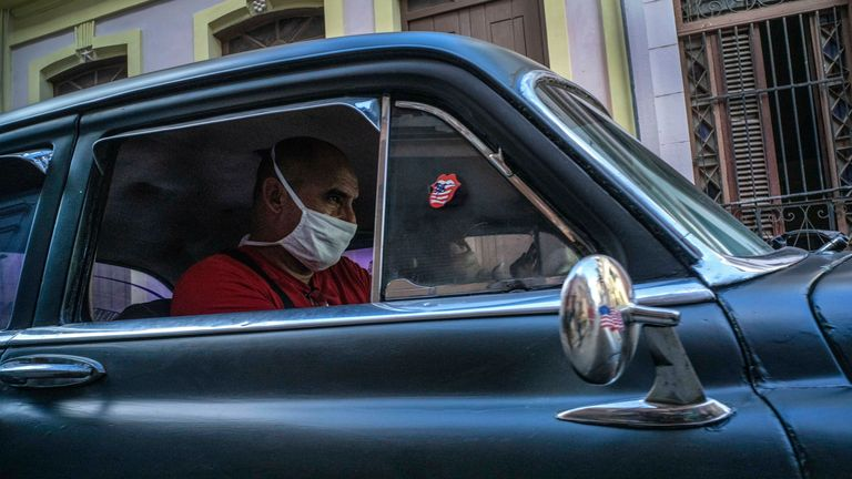 Donald Trump's move means a range of sanctions will be reimposed in Cuba. File pic