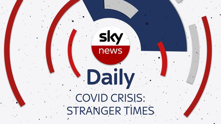 Sky's home editor Jason Farrell hosts a special series about the human impact of COVID on the Sky News Daily podcast