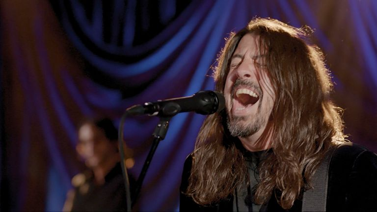 Dave Grohl. Pic: AP
