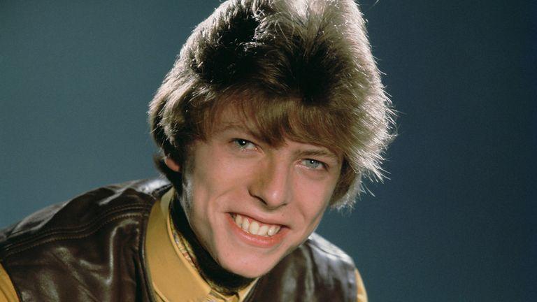 Bowie in 1964. Pic: Dezo Hoffman/Shutterstock