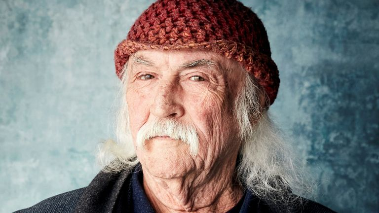 "David Crosby poses for a portrait to promote the film ""David Crosby: Remember My Name"" at the Salesforce Music Lodge during the Sundance Film Festival on Saturday, Jan. 26, 2019. Pic: Taylor Jewell/Invision/AP"